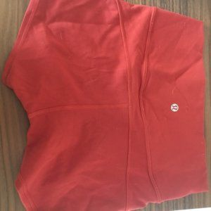 Lululemon Burnt Orange Shorts 6